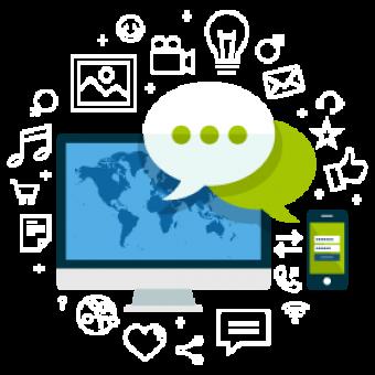 service réseaux sociaux